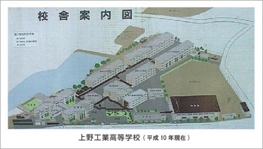当時の上野工業高等学校